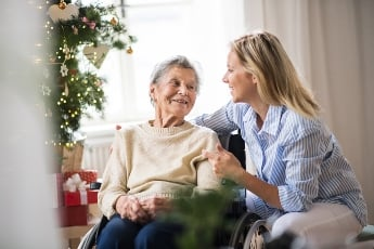 Hospice care at the holidays