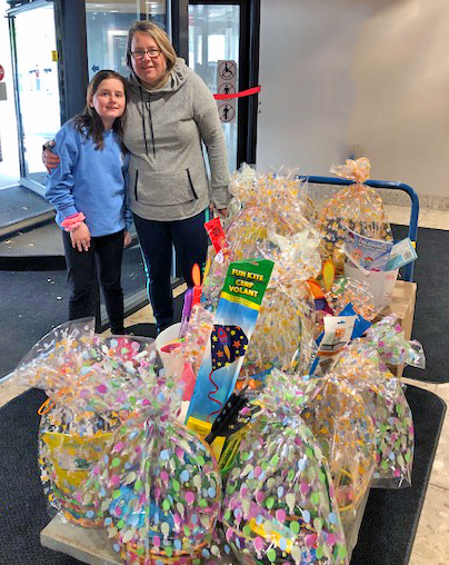 The Santoros and their Easter donations to DCMH